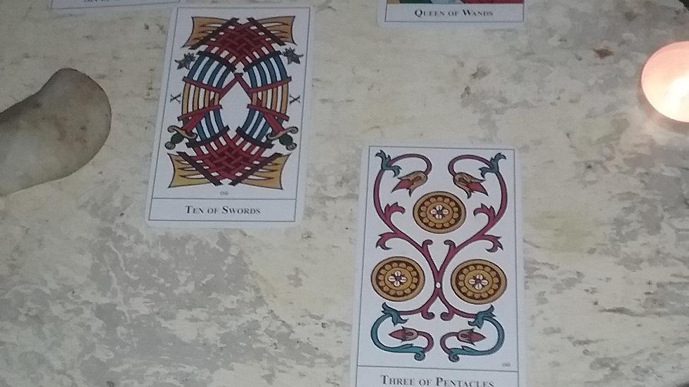 10 card tarot reading