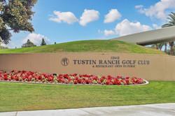 Tustin Ranch Golf Sign