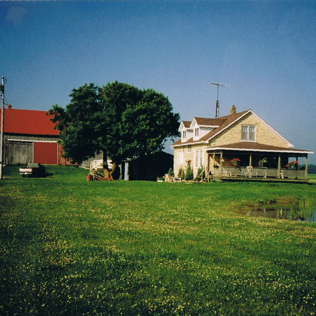 Home farm in 1992