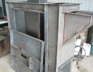 Elevator inlet / tail section
