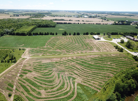 Farmtario - Tile drainage heads for the hills