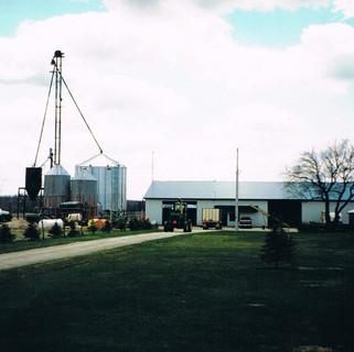 Home farm in 1996