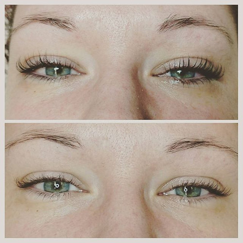 Lash Lift+ Tint Before & After