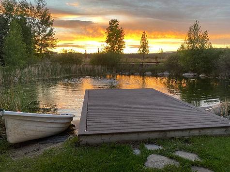 Retreat dock and sunset.jpeg