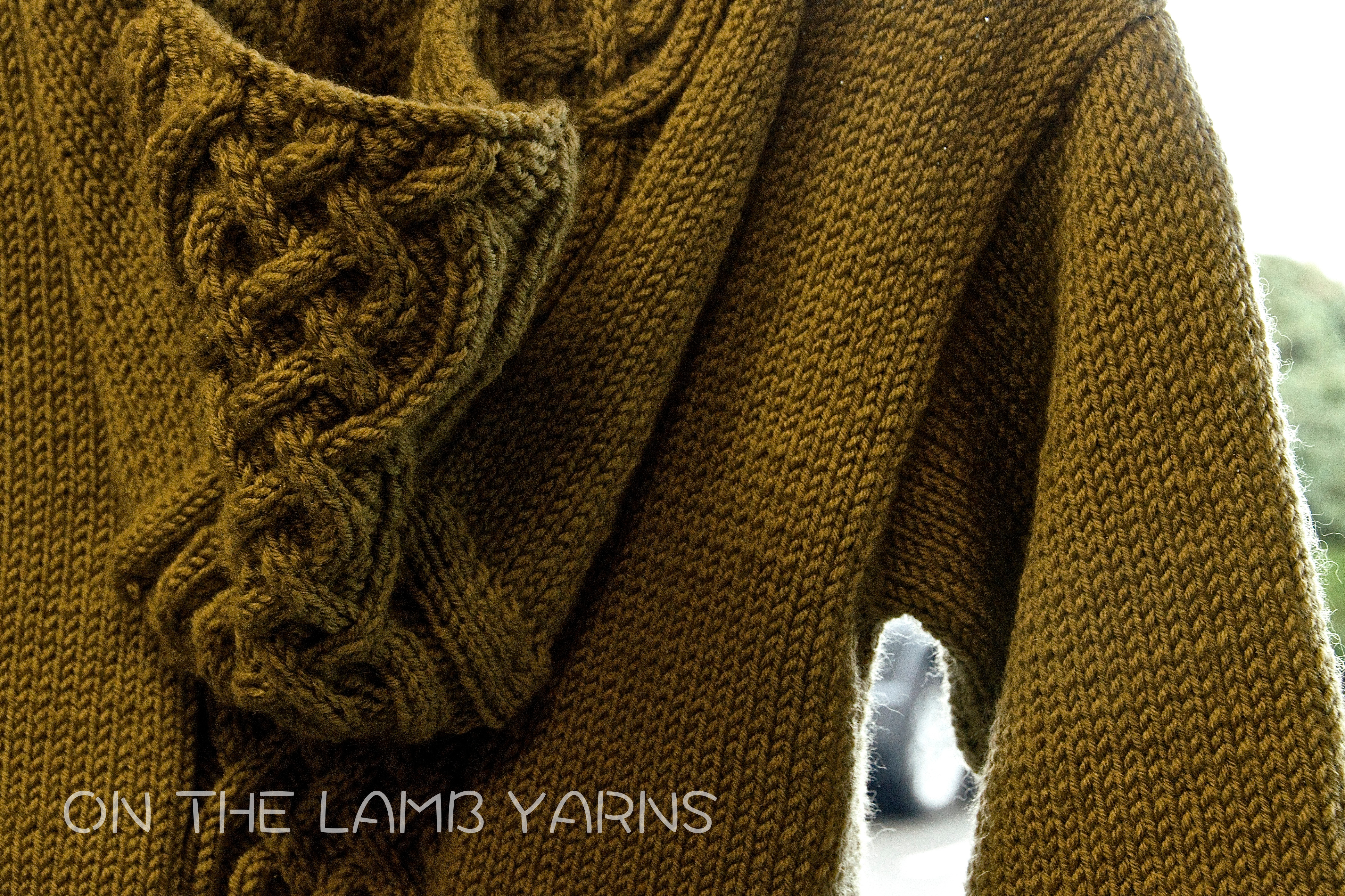 Celtic Braid Child's sweater