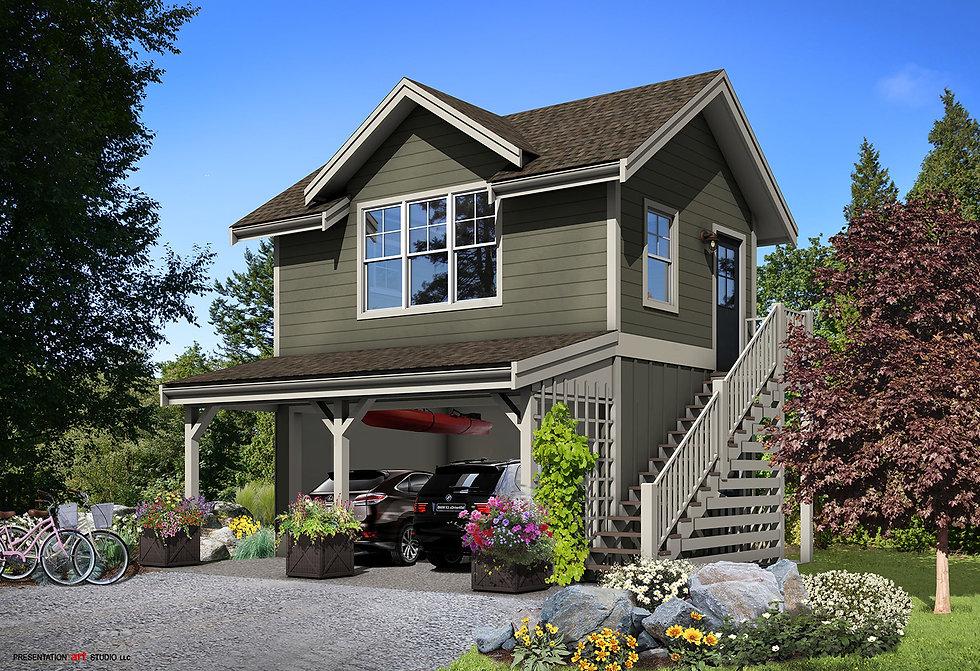 Waldron home concept design