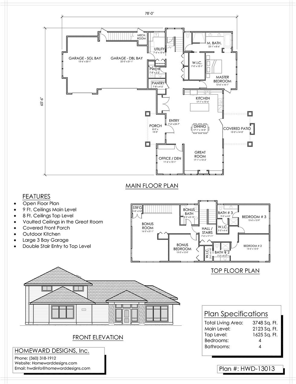 Single Family House Stock Plan