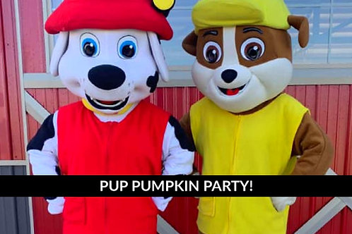 Pup Pumpkin Party Sat Oct 17