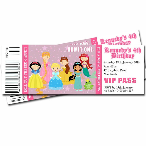 Souvenir Personalized Ticket (Digital)