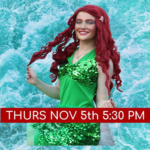Little Mermaid FB Live