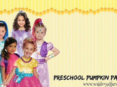 Preschool Pumpkin Party Weekend