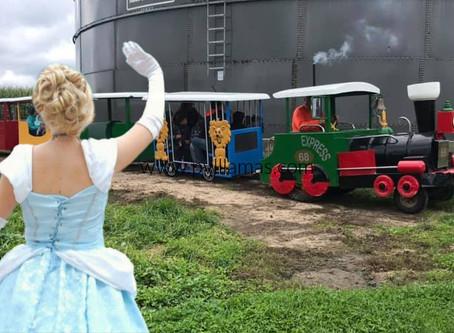 Princesses & Pumpkins at Pleasure Valley Pumpkin Farm!