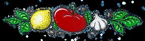 Lou Pistou restaurant illustration Curtsio Citron tomate Ail Olive