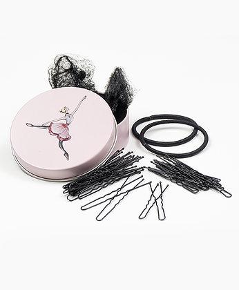 BALLERINA HAIR KIT (BLACK)