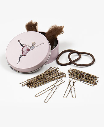 BALLERINA HAIR KIT (BROWN)