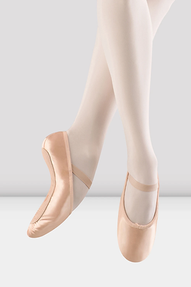Prolite Satin Ballet Shoes, Full sole, ADULT