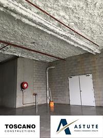 Jetspray insulation job 3