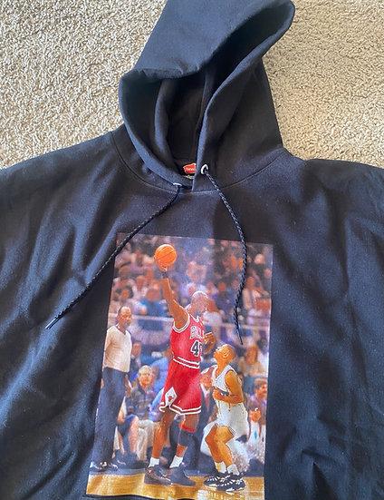 Jordan hoodie navy blue