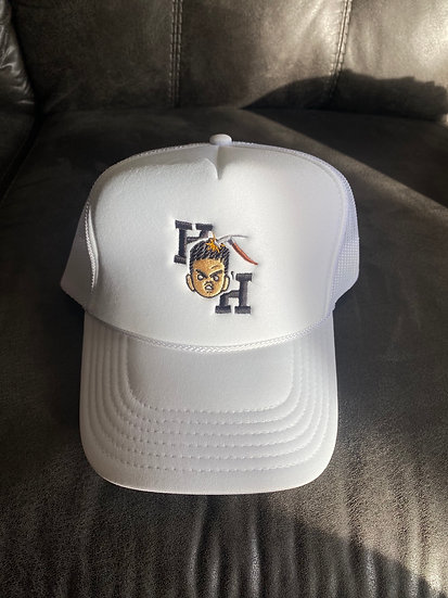 Hardheaded hat white