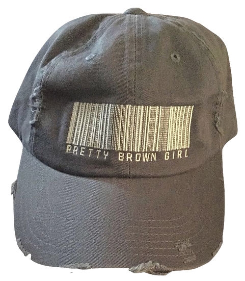 Pretty Brown Girl Hats (Blue/Distressed)