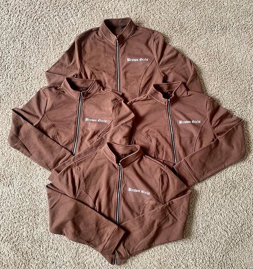 Brown Girls zip jacket