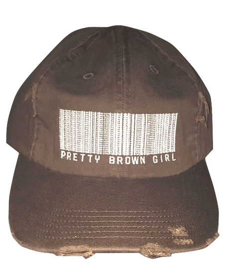 Pretty Brown Girl Hat (Brown/Distressed)