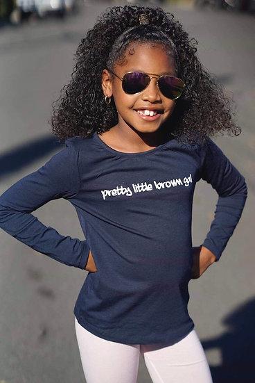 """Blue """"Pretty Little Brown Gal"""""""