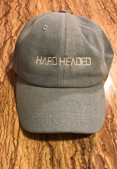 Hardheaded denim hats
