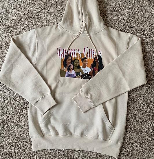 Brown Girls Club creme sweater