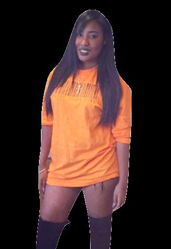 Jail House Orange Pretty Brown Girl Shirt