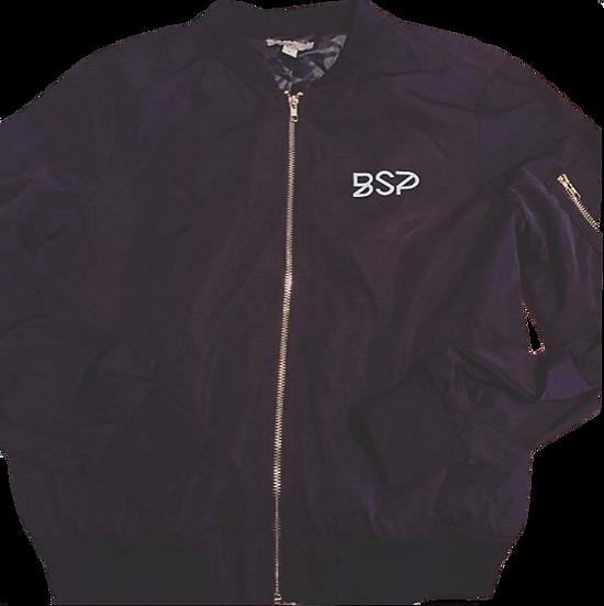 BSP/PrettyBrownGirl Bomber (Black)