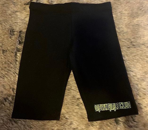 Brown Girls Club biker shorts