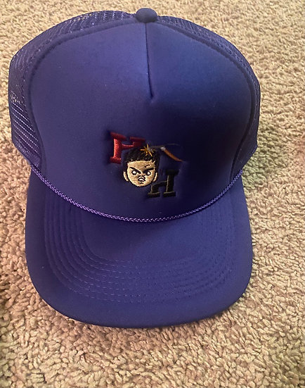 Blue Hardheaded hat