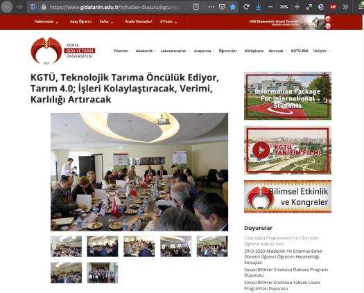 Konya Gıda Tarım Üniversitesi