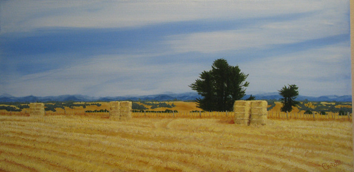 Long Dry Summer - Acrylic - SOLD