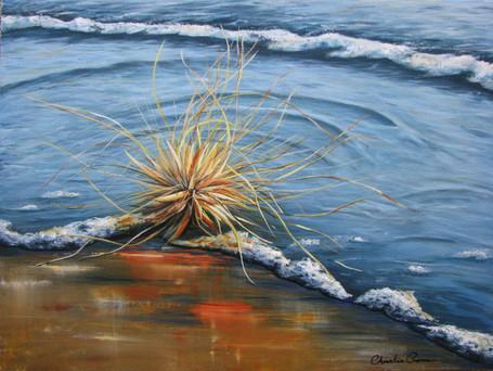 Sunrise Papamoa - SOLD - 46cm x 61cm - Acrylic