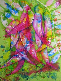 A3 Fine Art Print - Blooming (Kakabeak)