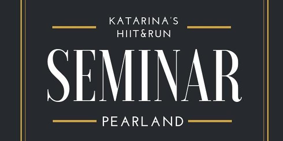 PEARLAND Seminar, Friday January 4 @ 7 pm