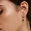 Thumbnail: Pendientes PPAOLA  plata, circonitas, nacar