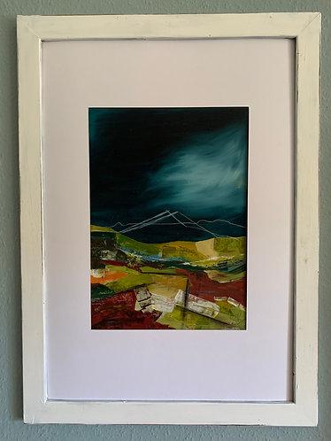 """""""Hidden mountain"""" Landscape"""