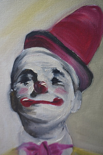 Circus Clown in pink