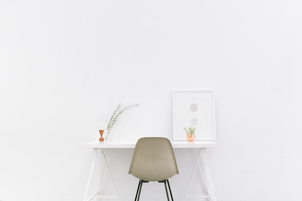 Moxie Writing Co - begin living a minimalist lifestyle