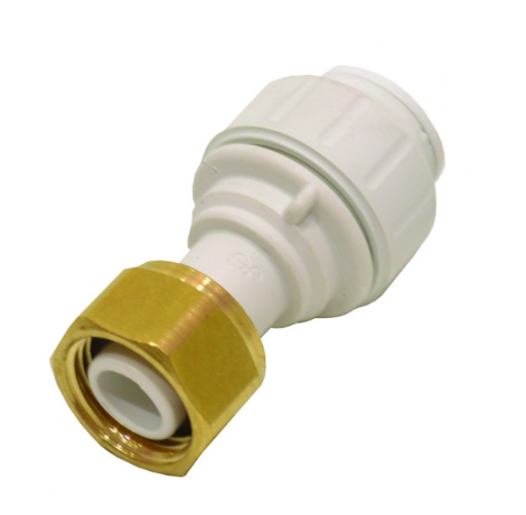 "Speedfit - 15mm x 1/2"" Straight Tap Connector"