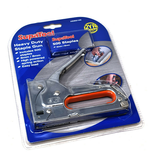 SupaTool Staple Gun Heavy Duty Metal