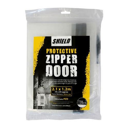 Shield Protective Zipper Door 2.1m x 1.2m