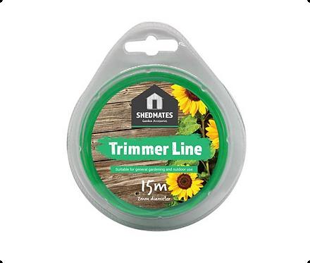Shedmates 15m x 2.00mm Trimmer Line