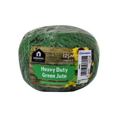 Shedmates Heavy Duty Green Jute 125m