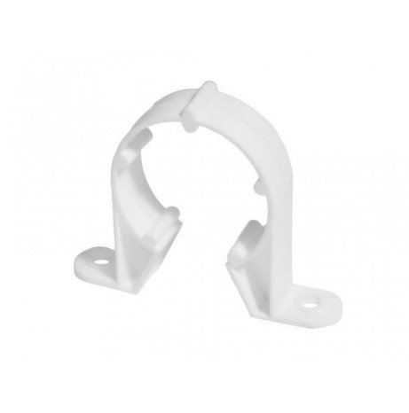 32mm Plastic Snap Fix Pipe Clips (Pack of 4)