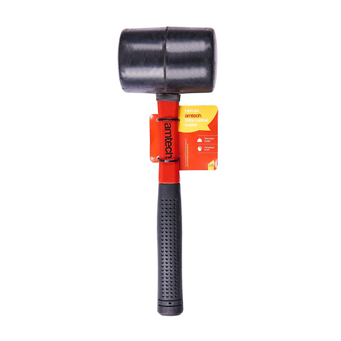 Amtech - 32oz rubber mallet – fibreglass shaft
