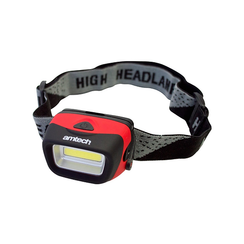 Amtech 3W COB LED headlight